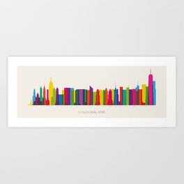 Colossal NYC Art Print