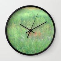 bambi Wall Clocks featuring BAMBI by Magdado