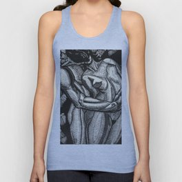 Embrace, Engraving from Song of Solomon 1929 by Cecil Buller Unisex Tank Top