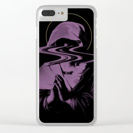 HOLY GHOST Clear iPhone Case