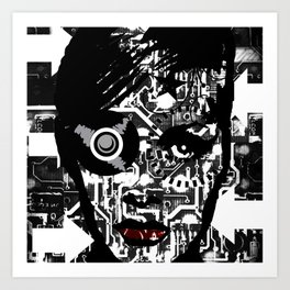 Black and White.. Art Print