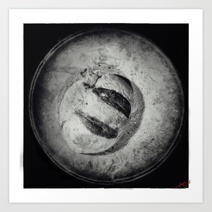 Bread and Circle Art Print