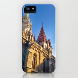 CITY PHOTOGRAPHY - BUDAPEST Matthias Church iPhone Case