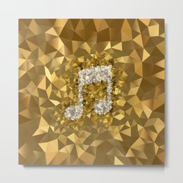 POLYNOID Music / Gold Edition Metal Print