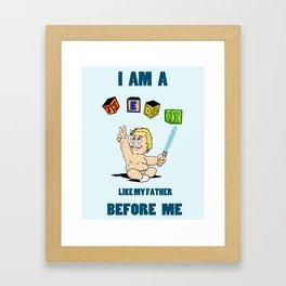 Baby Wars 2 Framed Art Print
