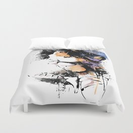 Shibari - Japanese BDSM Art Painting #7 Duvet Cover