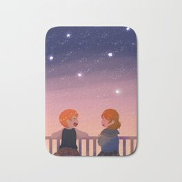 RinPana Constellation Bath Mat