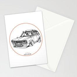 Crazy Car Art 0186 Stationery Cards