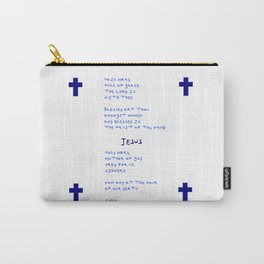 Ave Maria english version. Carry-All Pouch