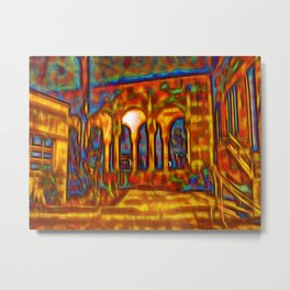 Dream courtyard Metal Print