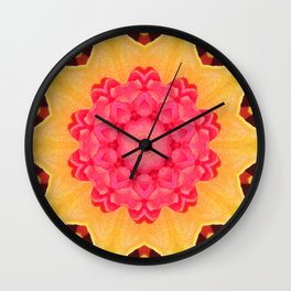 Kaleidoskop Flower Wall Clock