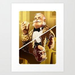 Colonel Mustard Art Print