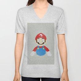Mario Unisex V-Neck