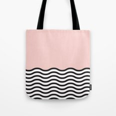 Waves of Pink Tote Bag