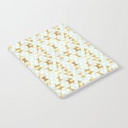 Mint & Gold - hana Notebook