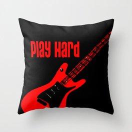 PH Guitar Throw Pillow