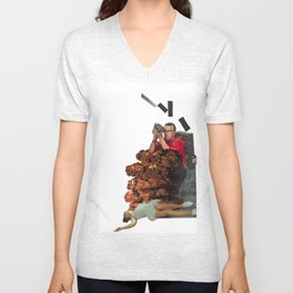 The Way the Cookie Crumbles Unisex V-Neck