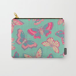 Beautiful Multicolor Butterflies Carry-All Pouch