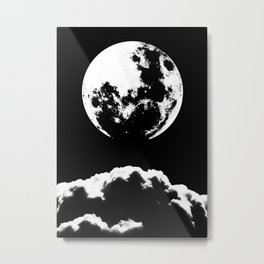 MOON ASTERY Metal Print