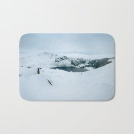 Lough Tay in winter time (RR 195) Bath Mat