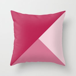 Cerise Tones Throw Pillow