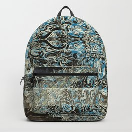 LA DENTELLE WOODEN PATTERN MANDALA Backpack