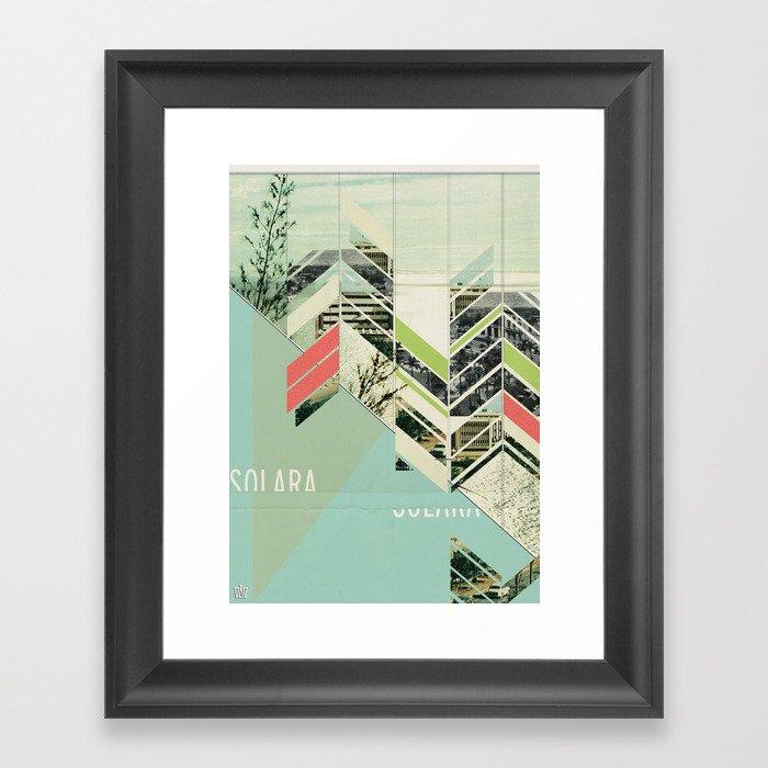 Solara Framed Art Print