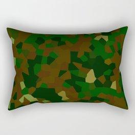 Freckled Camo. Rectangular Pillow