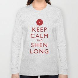 Keep Calm and Shen Long Long Sleeve T-shirt