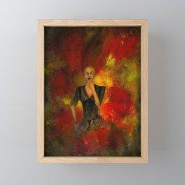Die aus dem Feuer Framed Mini Art Print