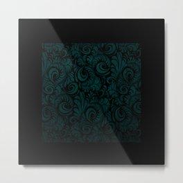 Blue Florentine Metal Print
