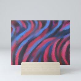 Abstract #1 Pink Mini Art Print