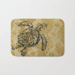 Yellow Turtle Bath Mat
