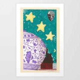 untitled (urns 5) Art Print