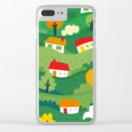 Home Land Clear iPhone Case
