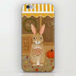 oliver's pies iPhone Skin