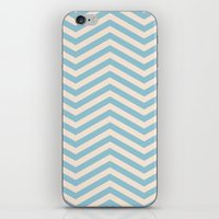 chevron iPhone & iPod Skins featuring Chevron by Patterns and Textures
