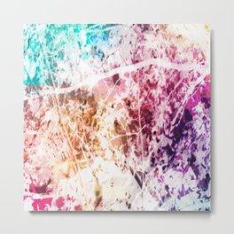 Marbled Trees Metal Print