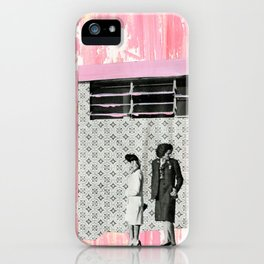 The Pink House iPhone Case
