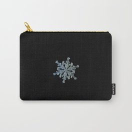 Real snowflake macro photo - 13.02.17 2 black Carry-All Pouch