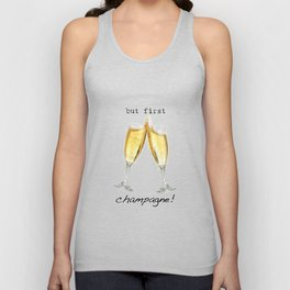 Champagne! Unisex Tank Top