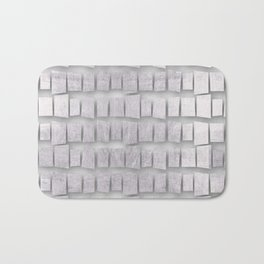 Silver memorial blocks August 2018 Bath Mat