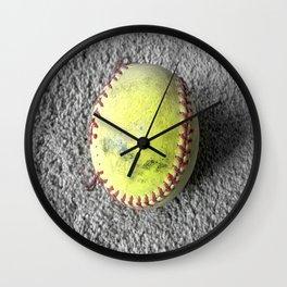 The Softball Wall Clock