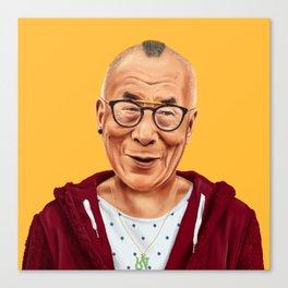 Hipstory -  Dalai Lama Canvas Print