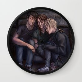 David, Reese and Amber. Wall Clock