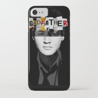 godfather iPhone & iPod Cases featuring Godfather Mix 2 black by Marko Köppe