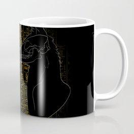Sacred Anubis & Bastet Coffee Mug