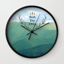 Best Day Ever! Wall Clock