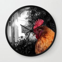 Its a chicken! Wall Clock