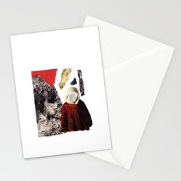 Red child Stationery Cards